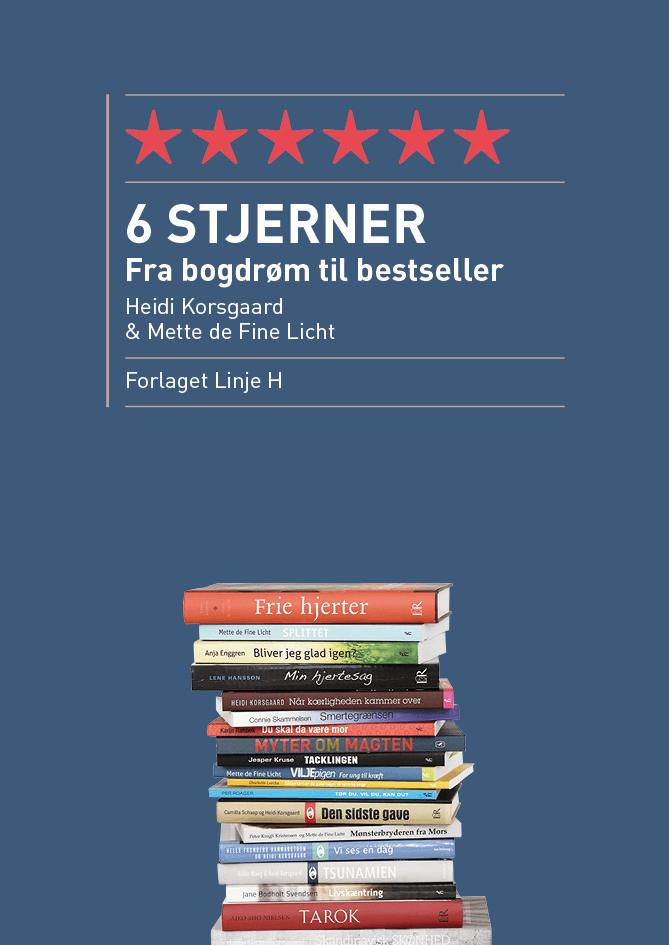 6 Stjerner – fra bogdrøm til bestseller (e-bog)