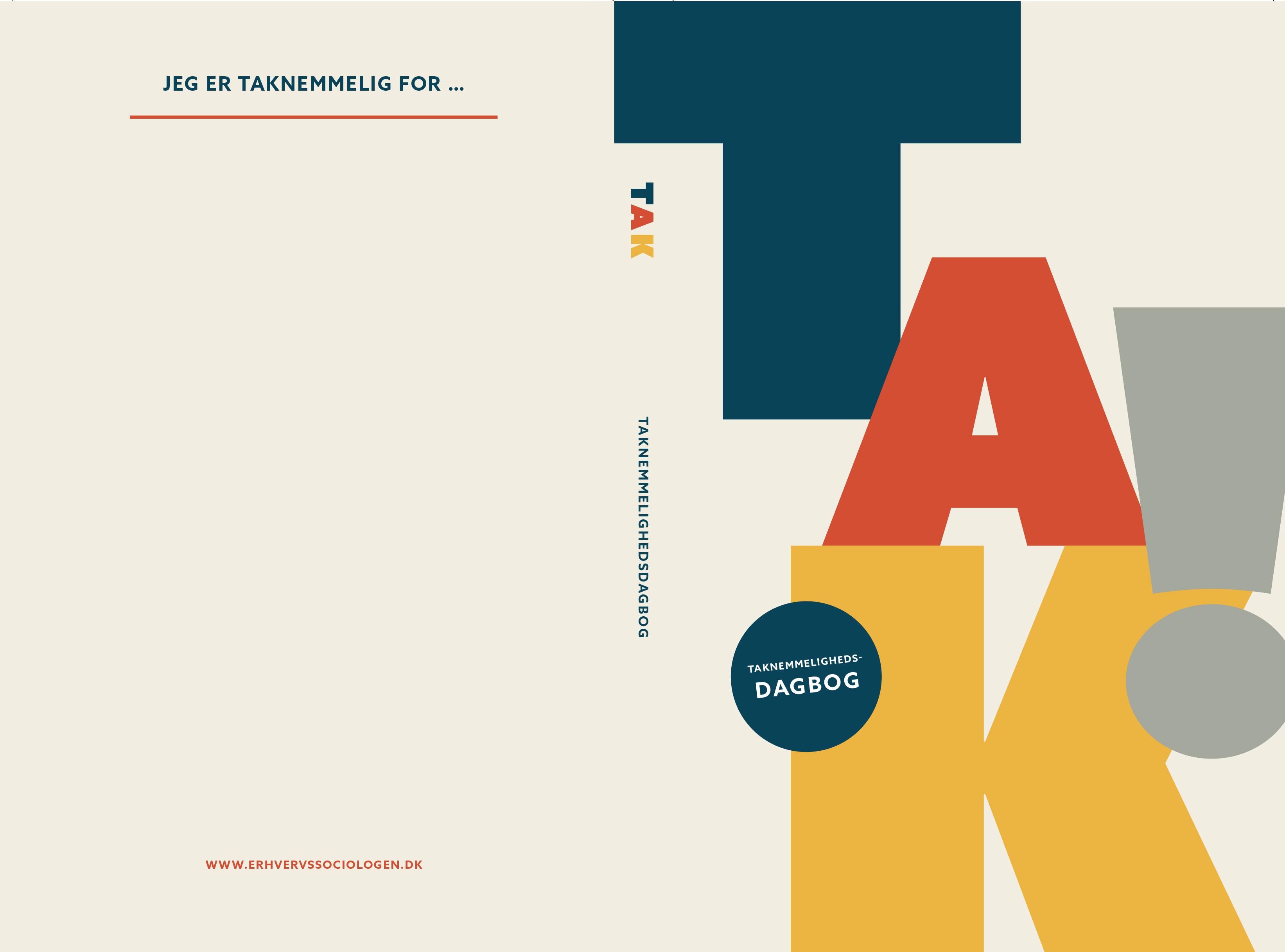Danmarks første bog om taknemmelighed